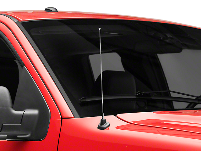 SpeedForm Fixed Chrome Antenna - 14 in. (97-08 All)
