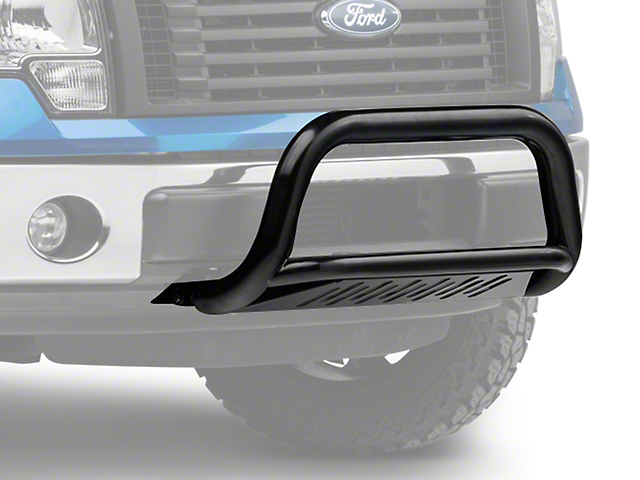 Barricade 3-Inch Bull Bar with Skid Plate; Gloss Black (11-20 2.7L/3.5L EcoBoost F-150, Excluding Raptor)