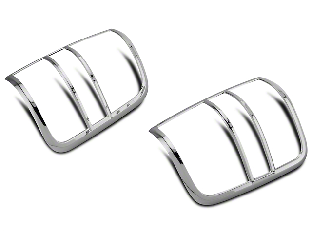 SpeedForm Chrome Tail Light Covers (04-08 F-150 Styleside)