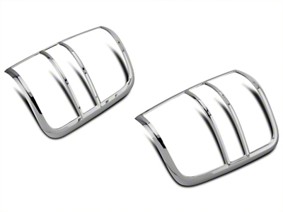 SpeedForm Chrome Tail Light Covers (04-08 Styleside)