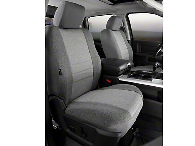 Fia Custom Fit Tweed Front Seat Covers - Gray (09-14 F-150 w/ Bucket Seats)