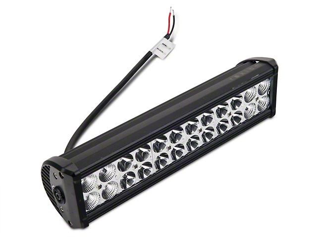 Raxiom 13.50-Inch Double Row LED Light Bar; Flood/Spot Combo Beam