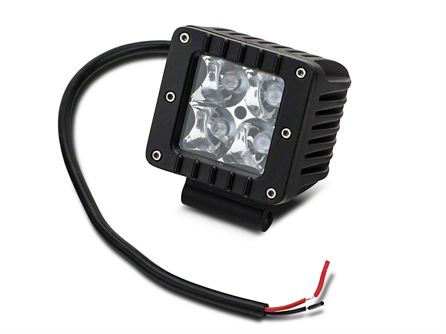 Raxiom 3 in. Square LED Light - Flood Beam (97-18 All)