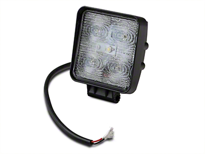 Raxiom 4.25 in. Square LED Light - Flood Beam (97-18 All)