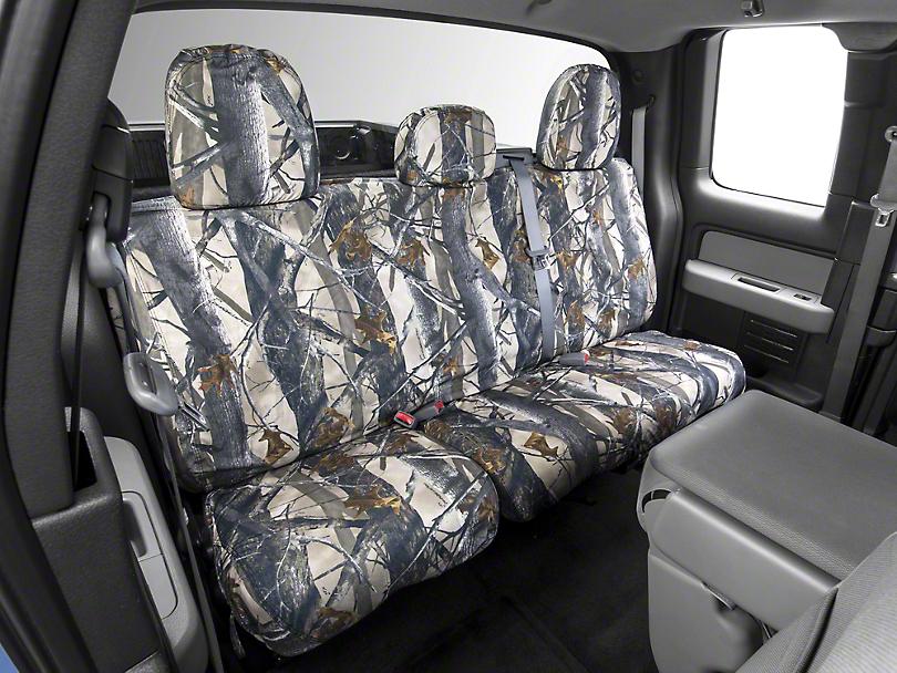 Covercraft Seat Saver 2nd Row Seat Cover - True Timber Camo (09-14 SuperCab, SuperCrew)