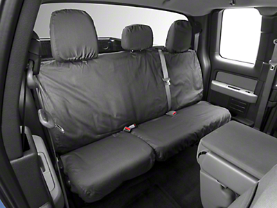 Covercraft Seat Saver 2nd Row Seat Cover - Dark Charcoal (09-14 F-150 SuperCab, SuperCrew)