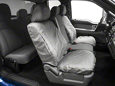 Covercraft Seat Saver Front Seat Covers - Gray (09-14 w/ Bucket Seats)