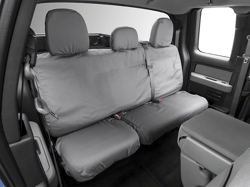 Covercraft Seat Saver 2nd Row Seat Cover - Gray (09-14 SuperCab, SuperCrew)