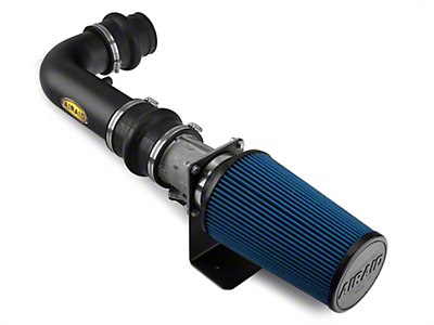 Airaid Black Classic Performance Cold Air Intake w/ Blue SynthaMax Dry Filter (97-03 4.6L)