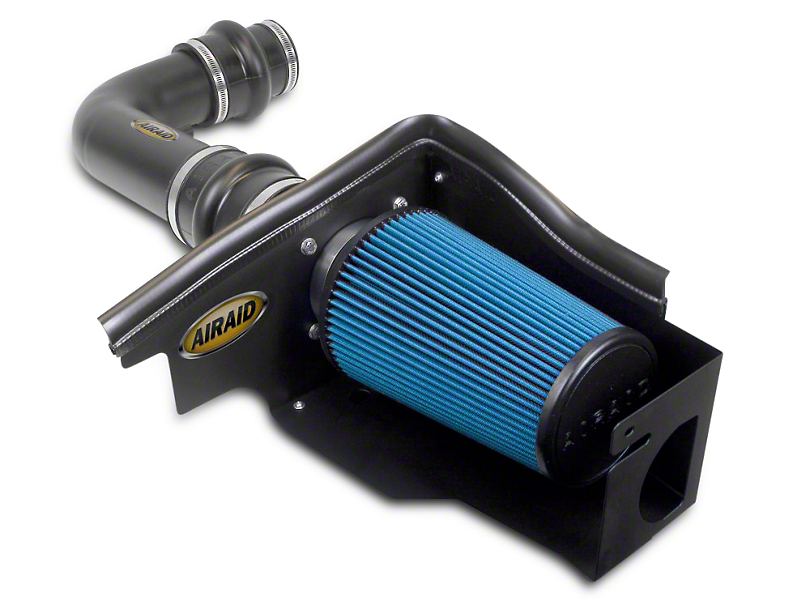 Airaid Cold Air Dam Intake w/ Black SynthaMax Dry Filter - Blue (97-03 4.6L, 5.4L F-150)