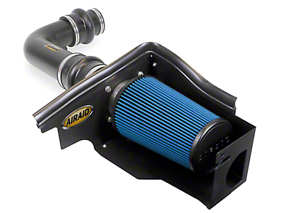 Airaid Black Cold Air Dam Intake w/ Blue SynthaMax Dry Filter (97-03 4.6L F-150)
