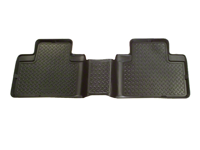 Husky Classic Style 2nd Seat Floor Liner - Black (01-03 F-150 SuperCrew w/ Rear Bench Seat)
