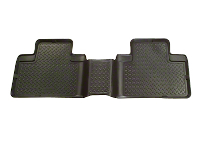 Husky Classic Style 2nd Seat Floor Liner - Black (01-03 SuperCrew w/ Rear Bench Seat)