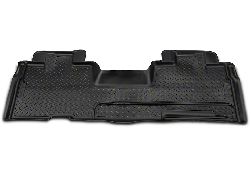 Husky Classic 2nd Seat Floor Liner - Black (09-14 F-150 SuperCab, SuperCrew)