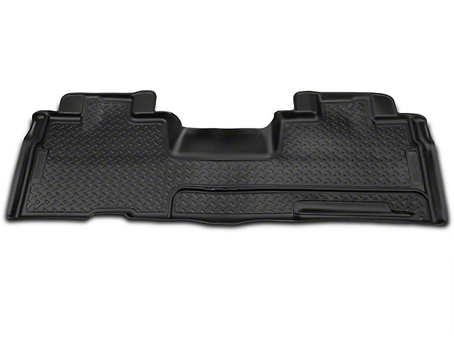 Husky Classic 2nd Seat Floor Liner - Black (09-14 SuperCab, SuperCrew)