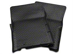 Husky Classic Style Front Floor Liners - Black (01-03 F-150 SuperCrew)