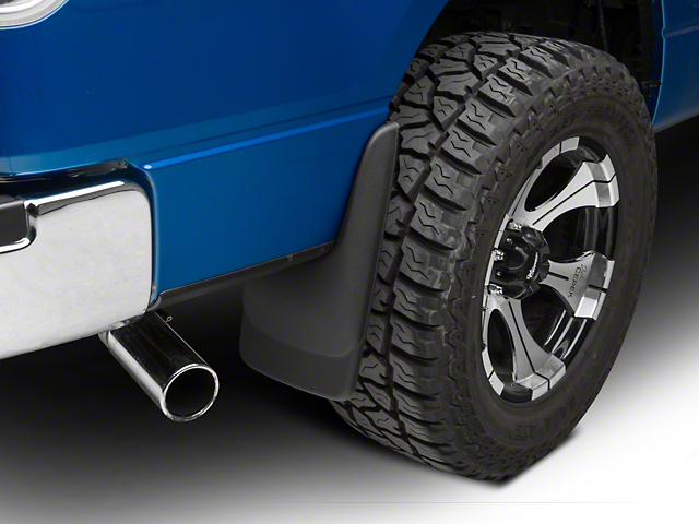 Husky Custom Molded Rear Mud Guards (04-14 F-150, Excluding Raptor)