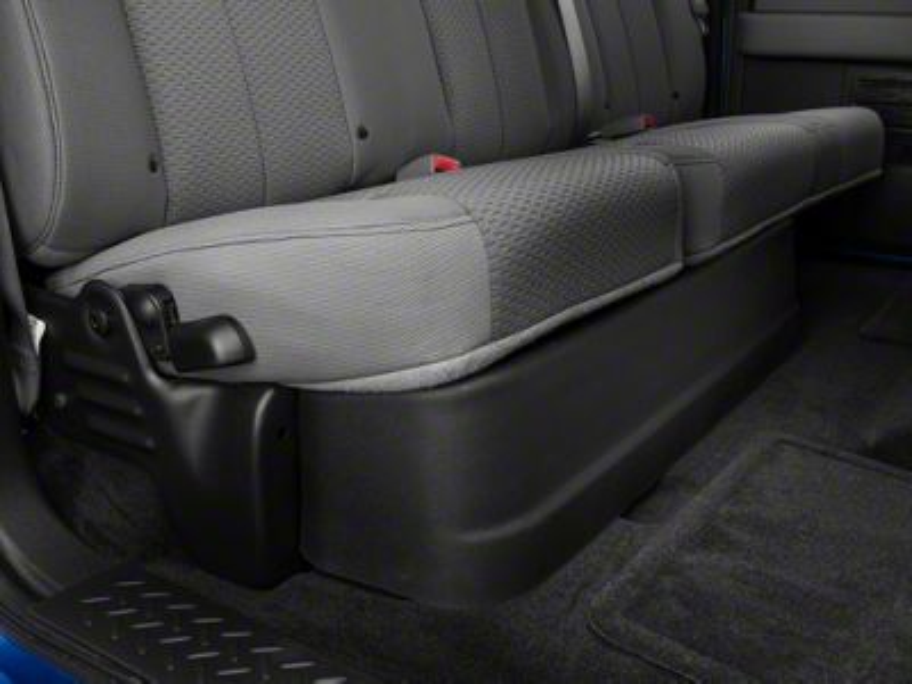 Husky Gearbox Under Seat Storage Box (09-14 F-150 SuperCab)