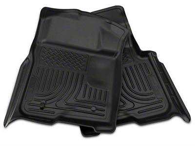 Husky Weatherbeater Front & 2nd Seat Floor Liners - Black (09-14 SuperCrew)