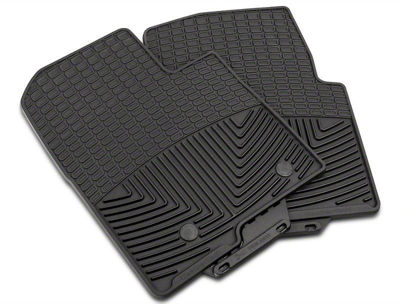 Weathertech All Weather Front Rubber Floor Mats - Black (09-14 F-150)