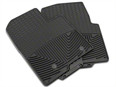 Weathertech All Weather Front Rubber Floor Mats - Black (09-14 All)