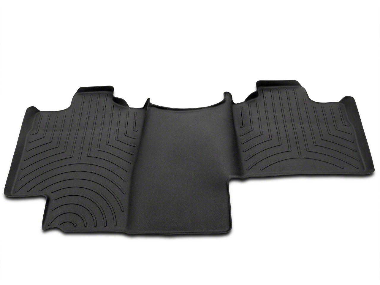 Weathertech DigitalFit Rear Floor Liner - Black (04-08 F-150 SuperCab, SuperCrew)