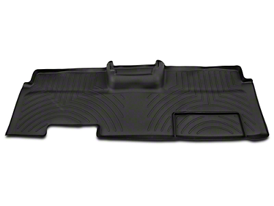 Weathertech DigitalFit Rear Floor Liner - Black (09-14 SuperCab, SuperCrew)