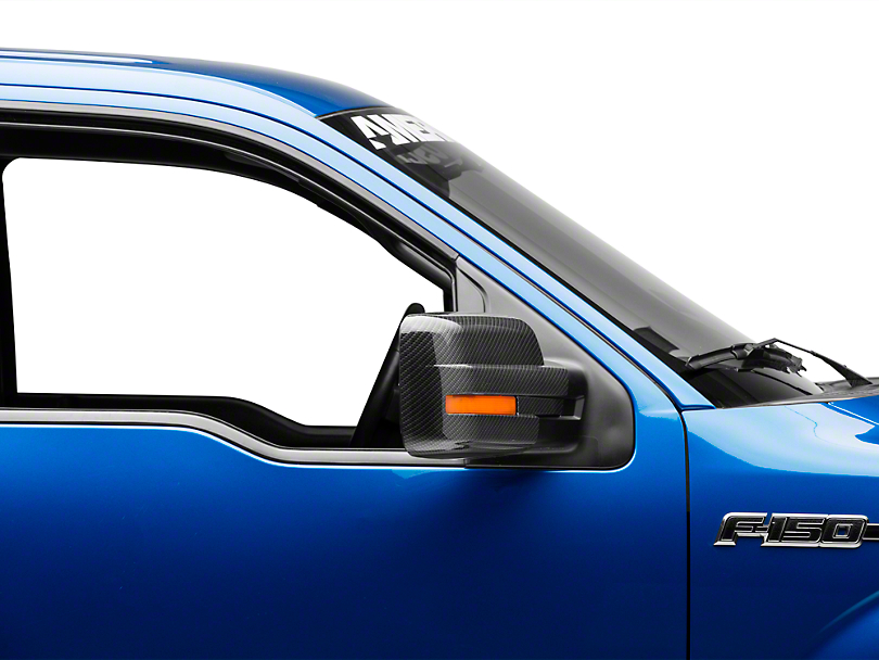 SpeedForm Carbon Fiber Mirror Covers (09-14 w/ Standard Mirrors)