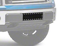 Modern Billet Stainless Steel Lower Bumper Grille Insert - Black (09-14 F-150, Excluding Raptor, Harley Davidson & 2011 Limited)
