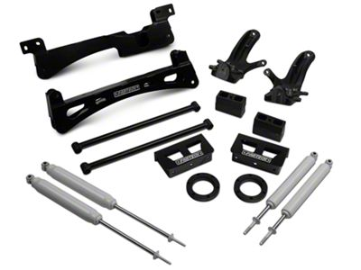 How to Install Fabtech 6 in  Performance Lift Kit w