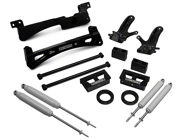 Fabtech 6 in. Performance Lift System w/ Performance Shocks (97-03 4WD F-150 SuperCab, SuperCrew)