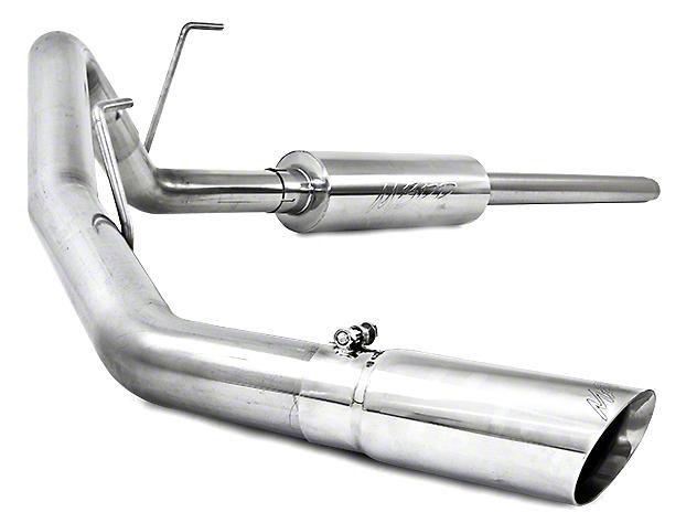 MBRP Pro Series Single Exhaust System - Side Exit (04-08 4.6L)