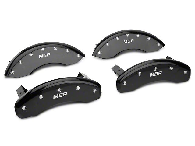 MGP Black Caliper Covers w/ MGP Logo - Front & Rear (04-08 All)