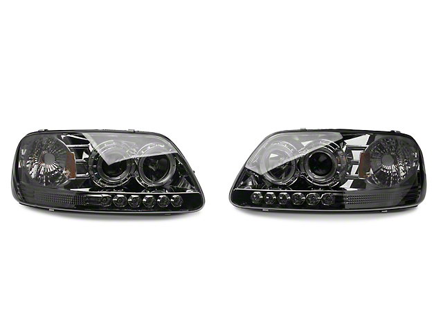 Axial Smoked Projector Headlights (97-03 All)