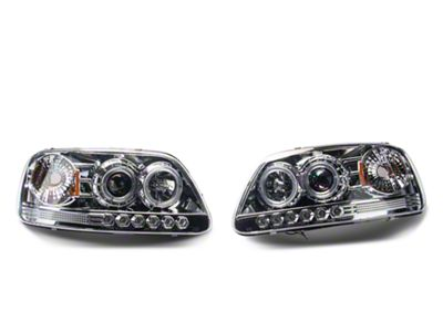 Chrome Projector Headlights (97-03 All)