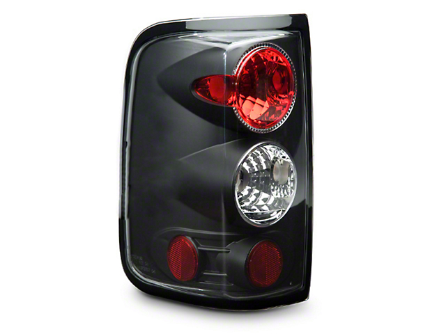Axial Black Euro Tail Lights (04-08 Styleside)