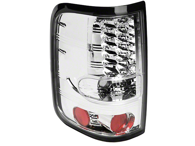 Axial Chrome LED Tail Lights (04-08 Styleside)