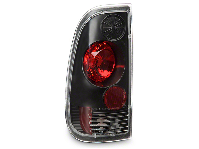 Axial Black Euro Tail Lights (97-03 F-150 Styleside Regular Cab, SuperCab)