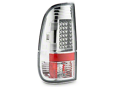 Axial Chrome LED Tail Lights (97-03 F-150 Styleside Regular Cab, SuperCab)
