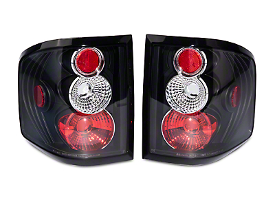 Axial Black Euro Tail Lights (04-09 Flareside)