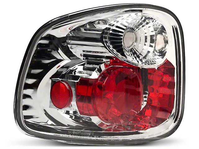 Axial Chrome Euro Tail Lights (97-00 Flareside)