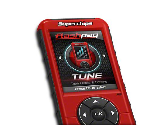 Superchips Flashpaq F5 Tuner - California Edition (11-14 5.0L F-150)