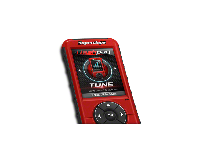 Superchips Flashpaq F5 Tuner - California Edition (11-14 6.2L, Excluding Raptor)