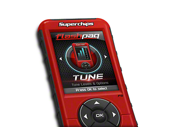 Superchips Flashpaq F5 Tuner - California Edition (11-14 6.2L, Excluding Raptor)