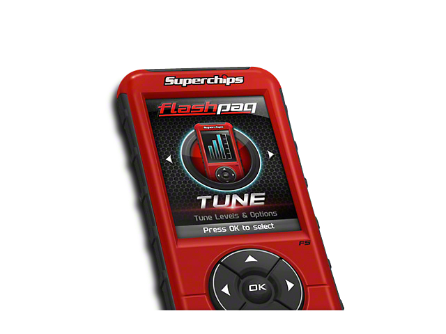 Superchips Flashpaq F5 Tuner (09-10 4.6L F-150)