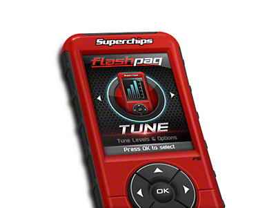 Superchips Flashpaq F5 Tuner (15-17 3.5L EcoBoost, Excluding Raptor)