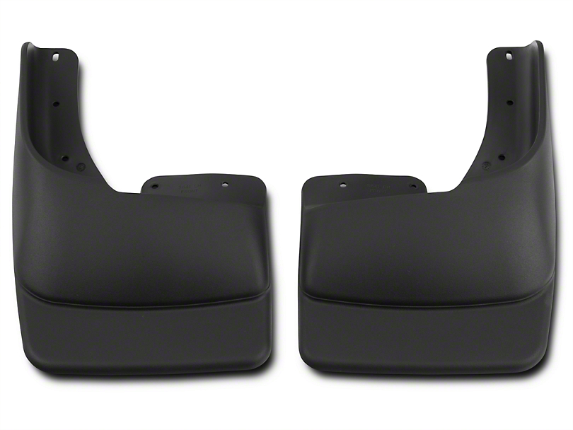 Husky Custom Molded Front Mud Guards (97-03 Regular Cab, SuperCab w/ OE Fender Flares)