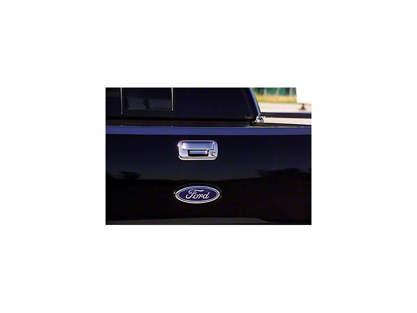 Putco Chrome Tailgate Door Handle Cover w/ Keyhole (97-03 All)
