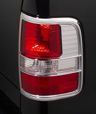 Putco Chrome Tail Light Covers (04-08 Styleside)