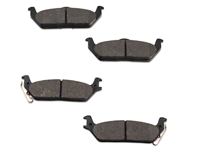 Hawk Performance Ceramic Brake Pads - Rear Pair (04-12 F-150, Excluding 2012 Raptor)